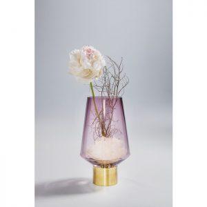 ръчно изработена ваза Noble Ring Purple